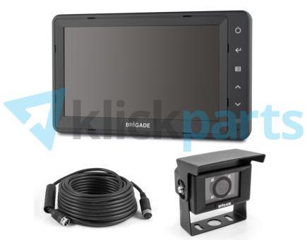 Brigade Komplettsatz Kamera Monitor System Select VBV-770H-7000
