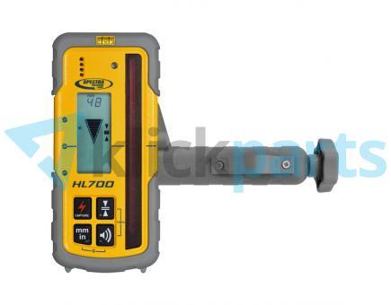 Spectra Precision robuster Handempfänger mit Millimeteranzeige