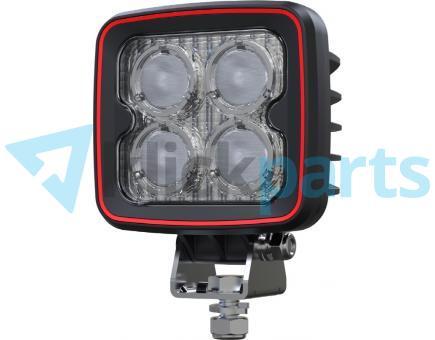 Weldex LED Arbeitsscheinwerfer eckig / 1600lm / 40° / ohne Stecker