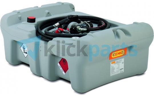 Cemo Mobil Tankanlage Typ DT MOBIL EASY Pick-up 210l 40l/min