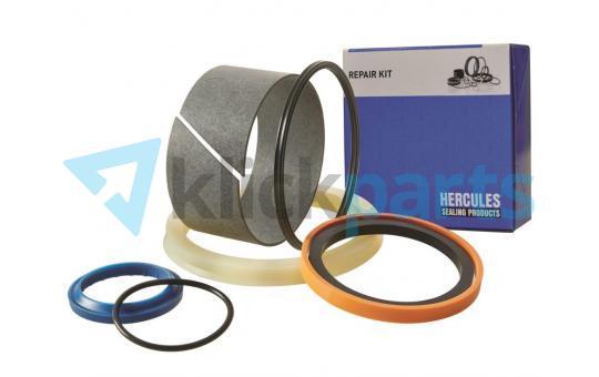 HERCULES Hydraulikzylinder-Dichtungssatz für Ausleger/(Boom)-Zylinder rechts, mit Lasthalteventil CASE CX135SR (Zylinder-Vergleichsnummer KMV2546)